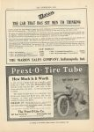 1911 7 12 IND Prest-O-Tire Tube THE HORSELESS AGE 9″×12″ page 43