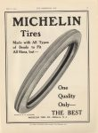 1913 5 14 MICHELIN Tires THE BEST THE HORSELESS AGE 9″×12″ page 17