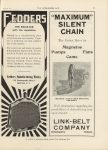 1911 6 28 IND LINK BELT COMPANY THE HORSELESS AGE 9″×12″ page 45