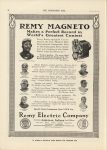 1911 6 28 IND REMY MAGNETO 7 pictures of racers THE HORSELESS AGE 9″×12″ page 28