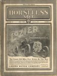1911 6 28 LOZIER at Indianapolis THE HORSELESS AGE 9″×12″ Front cover