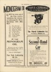 1911 6 7 IND MARVEL CARBURETOR THE NAME DEFINES IT THE HORSELESS AGE 9″×12″ page 14P