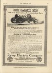 1911 6 7 Indy 500 REMY MAGNETO WINS THE HORSELESS AGE 9″×12″ page 14E