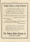 1911 6 7 Indy 500 TIMKEN TRUTH vs. FICTION THE HORSELESS AGE 9″×12″ page 14C
