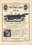 1911 8 9 IND PARRY NEW PARRY PHAETON $1400 THE HORSELESS AGE 9″×12″ page 33