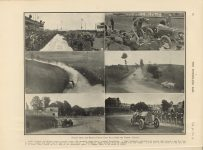 1912 7 17 French Grand Prix pictures THE HORSELESS AGE 9″×12″ page 82