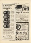 1912 7 3 ELEC Argo Electric No Delays in Delivering THE HORSELESS AGE 9″×12″ page 40