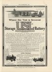 1912 7 31 USL Storage Battery Cool fire engines THE HORSELESS AGE 9″×12″ page 41