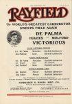 1912 9 4 RAYFIELD Carburetors De Palma VICTORIOUS Elgin THE HORSELESS AGE 9″×12″ page 16