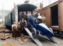 1917 HUDSON racer arcd06921 Philadelphia Free Library color