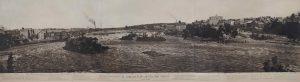 1869 Bromley St. Anthony Falls Panoramic photo 45″x13.5″