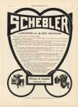 1911 11 8 IND SCHEBLER CARBURETORS are the BEST CHAUFFEURS THE HORSELESS AGE 9″×12″ page 45