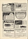 1911 11 8 MICHELIN Instruction Books THE HORSELESS AGE 9″×12″ page 28