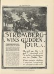 1911 11 8 STROMBERG Carburetor WINS GLIDDEN TOUR THE HORSELESS AGE 9″×12″ page 9
