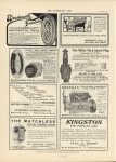 1911 9 27 MICHELIN EVERY MOTORIST SHOULD HAVE THESE BOOKS THE HORSELESS AGE 9″×12″ page 34