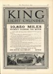 1916 8 1 KING EIGHT CYLINDER 10,850 MILES THE HORSELESS AGE 9″×12″ page 35