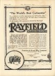 1916 8 1 RAYFIELD CARBURETORS THE HORSELESS AGE 9″×12″ page 3