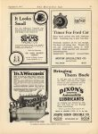 """1917 9 15 WISCONSIN Motors """"It's A Wisconsin"""" THE HORSELESS AGE 9″x12″ page 75"""