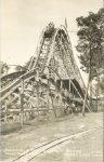 1935 ca. IOWA Clear Lake Bayside Amusement Park E-162 RPPC front