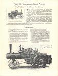 1964 7 ca. J. I. CASE CO Steam Tractor catalog reprint 8.5″×11″ page 15