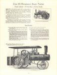 1964 7 ca. J. I. CASE CO Steam Tractor catalog reprint 8.5″×11″ page 16
