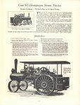 1964 7 ca. J. I. CASE CO Steam Tractor catalog reprint 8.5″×11″ page 17