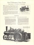 1964 7 ca. J. I. CASE CO Steam Tractor catalog reprint 8.5″×11″ page 18