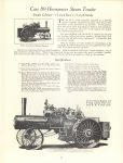 1964 7 ca. J. I. CASE CO Steam Tractor catalog reprint 8.5″×11″ page 19
