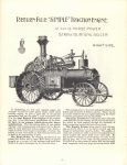1964 7 ca. J. I. CASE CO. Steam Tractor catalog reprint 8.5″×11″ page 6