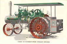 1964 7 ca. J. I. CASE CO. Steam Tractor catalog reprint 17″x11″ page 12 & 13