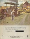 1964 7 ca. J. I. CASE CO. Steam Tractor catalog reprint 8.5″×11″ Front cover