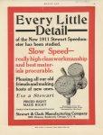 1910 11 17 1911 STEWART Speedometer MOTOR AGE 8.75″×11.5″ page 55