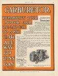 1910 11 17 THE RAYFIELD CARBURETOR C.F. Van Sicken F-A-L racer MOTOR AGE 8.75″×11.5″ page 57