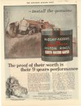 1920 3 20 McQUAY-NORRIS PISTON RINGS THE SATURDAY EVENING POST 10.25″×13.75″ page 67