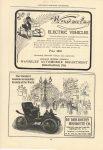 1901 12 DE DION BOUTON MOTORETTE CO. SCRIBNER'S MAGAZINE ADVERTISER 6.5″×9.5″ page 90