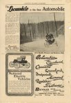 1902 6 ca. National Electric Vehicles SCRIBNER'S MAGAZINE ADVERTISER 6.5″×9.5″ page 94