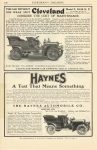 1906 4 IND HAYNES A Test That Means Something EVERYBODY'S MAGAZINE 6″×9.25″ page 100