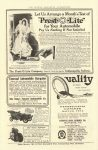 1907 IND Prest-O-Lite for Your Automobile THE OUTING MAGAZINE ADVERTISER 6.25″×9.25″