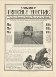1908 11 29 FRITCHIE Electric 100-MILE MOTOR AGE 8.5″×11.75″ page 42