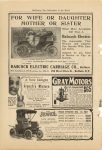 1908 BABCOCK Electric FOR WIFE OR DAUGHTER MOTOR OR SISTER McClure's–The Marketplace of the World 6.75″×9.75″ page 68