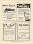 """1911 11 8 IND Reeves """"Octoauto"""" THE HORSELESS AGE 9″×12″ page 12D"""