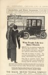 1911 2 BAKER Electric What People Want COUNTRY LIFE IN AMERICA 6.5″×10″ page 302