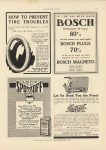 1911 6 15 BOSCH PLUGS MAGNETO IN THE 500 MILE RACE MOTOR AGE 8.5″×12″ page 111