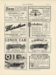 1912 4 4 BAKER Electrics Farthest on a Single Charge THE AUTOMOBILE 9″×12″ page 82
