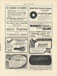 1912 4 4 IND WARNER GEARS Muncie, IND THE AUTOMOBILE 9″×12″ page 81