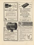1913 ca. IND The Prest-O-Lite Automatic Reducing Valve MOTOR AGE 8.75×11.75″ page 99
