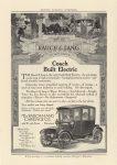 1914 10 RAUCH & LANG Coach Built Electric HARPER'S MAGAZINE ADVERTISER 6.75″×9.5″