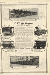 1916 12 2 GENERAL VEHICLE Electric G V Light Wagons SCIENTIFIC AMERICAN 10″×15.5″ page 509