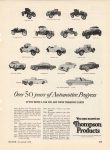 1953 11 Over 50 years of Automotive Progress MOTOR 8.25″×11″