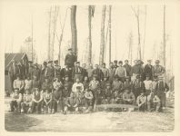 1912 ca Kileen Co. Camp The Crew Roleff photo 8.5″×6.5″